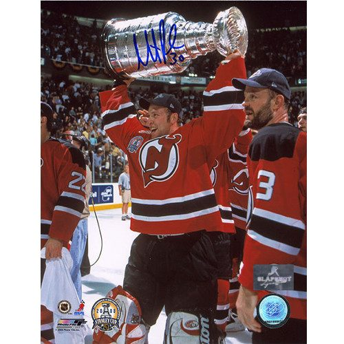 Martin Brodeur New Jersey Devils Signed 2000 Stanley Cup 8x10 Photo