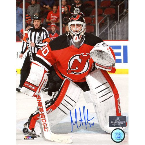 Martin Brodeur Signed Photo New Jersey Devils Game Action 8x10