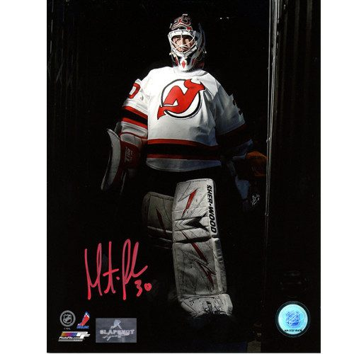 Martin Brodeur Signed Picture New Jersey Devils Spotlight 8X10