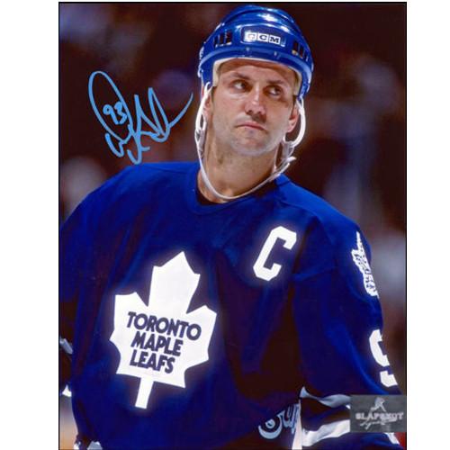 Toronto Maple Leafs Doug Gilmour Signed Close Up 8x10 Photo Doug Gilmour Toronto Maple Leafs Signed Close Up 8x10 Photo