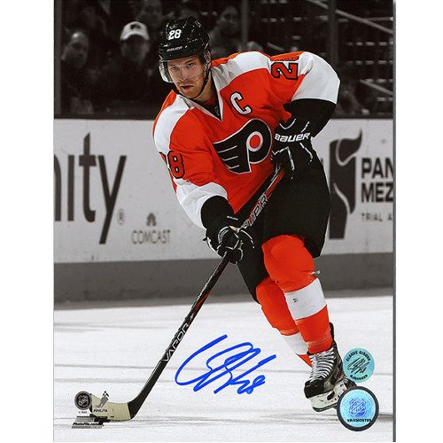 Claude Giroux Signed Picture-Flyers 8x10 Spotlight Photo
