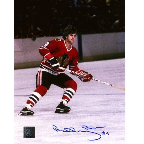 Bobby Orr Signed Photo Chicago Blackhawks 8x10 COA: GNR