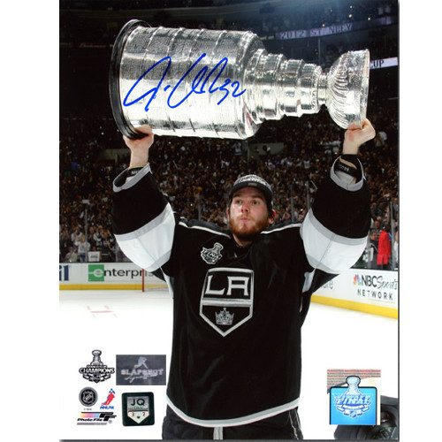 Jonathan Quick Stanley Cup Signed LA Kings 8x10 Photo