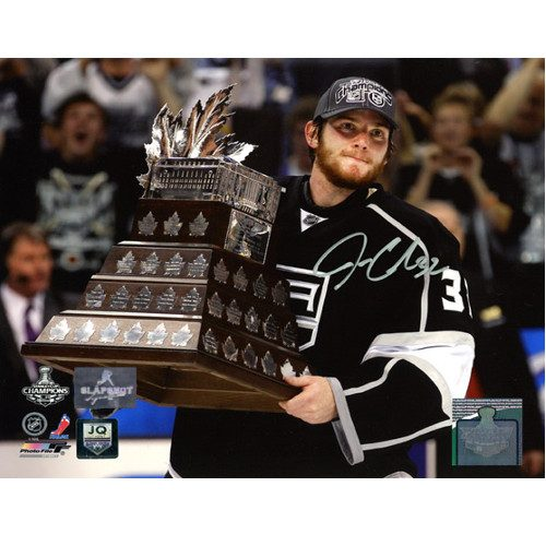Jonathan Quick Conn Smythe Signed LA Kings 8x10 Photo