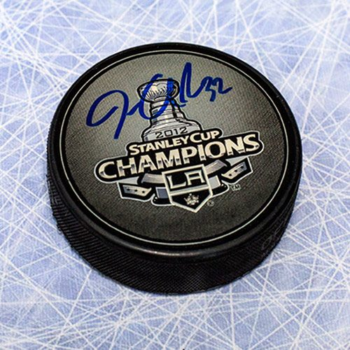 Jonathan Quick Stanley Cup 2012 LA Kings Signed Puck