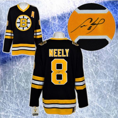 Cam Neely Boston Bruins Signed Fanatics Vintage Hockey Jersey