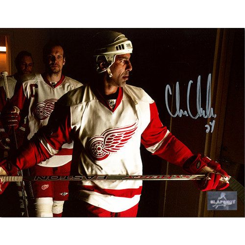 Chris Chelios Signed Photo 8x10 Detroit Red Wings