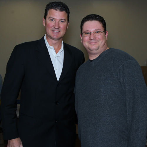 Mike and Mario Lemieux