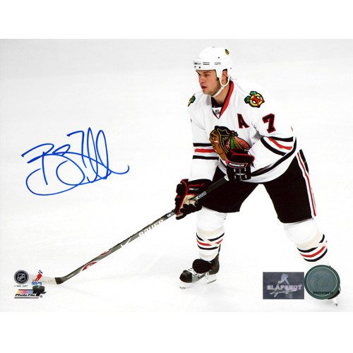 Brent Seabrook Chicago Blackhawks Signed 8x10 Photo
