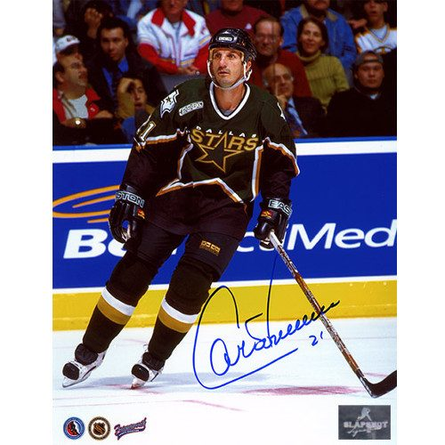 Guy Carbonneau Dallas Stars Autographed 8X10 Photo
