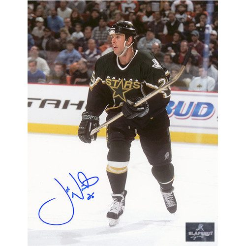 Joe Nieuwendyk Autographed Dallas Stars 8X10 Photo