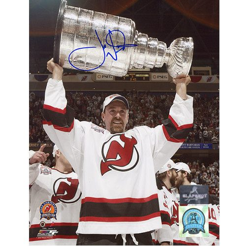 Joe Nieuwendyk Autographed New Jersey Devils 8X10 Cup Photo