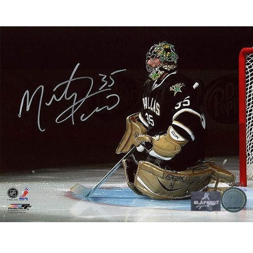 Marty Turco Dallas Stars Signed Photo 8x10 Playoff Intro