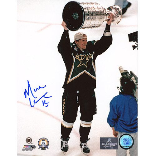 Mike Keane Dallas Stars 1999 Stanley Cup Signed Photo 8x10