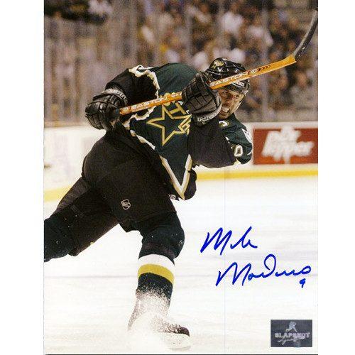 Mike Modano Dallas Stars Autographed 8X10 Photo
