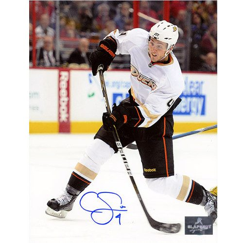 Cam Fowler Anaheim Ducks Signed 8x10 Defence Photo