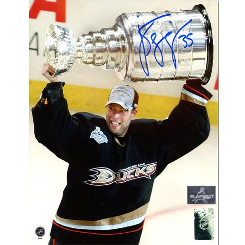 Jean Sebastien Giguere Stanley Cup Ducks Signed 8x10 Photo