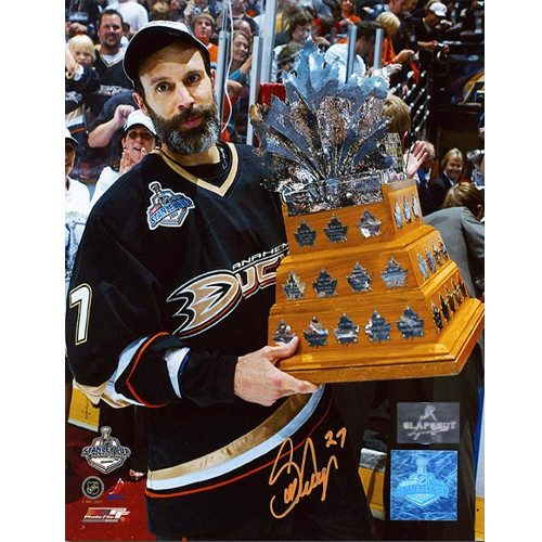 Scott Niedermayer Conn Smythe 2007 Ducks Signed 8x10 Photo
