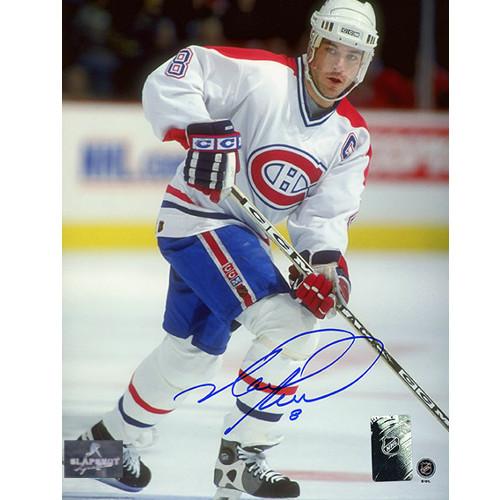 Mark Recchi Canadiens Captain Signed 8x10 Photo