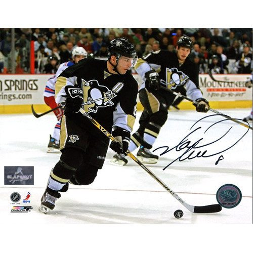 Mark Recchi Pittsburgh Penguins Signed 8x10 Action Photo
