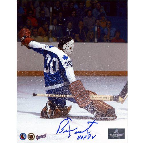 Bernie Parent Toronto Maple Leafs Signed 8x10 Photo