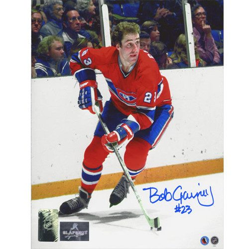 Bob Gainey Montreal Canadiens Signed Action 8x10 Photo