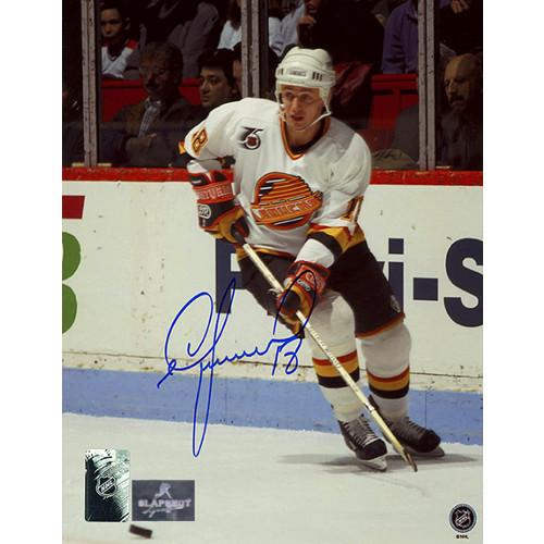 Igor Larionov Vancouver Canucks Autographed Photo 8x10