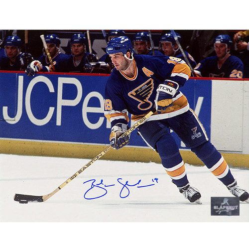 Brendan Shanahan St. Louis Blues Autographed Photo 8x10