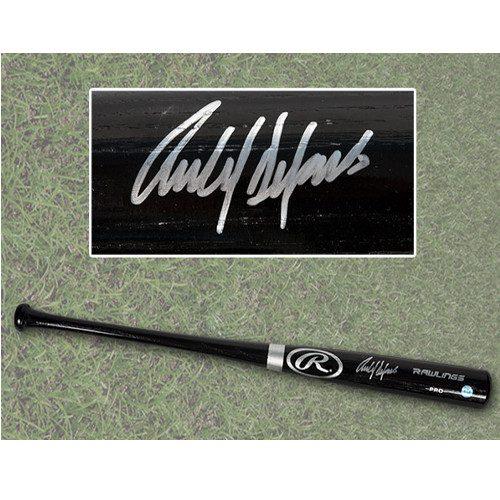 Carlos Delgado Autographed Bat Blue Jays Rawling Black Pro Bat