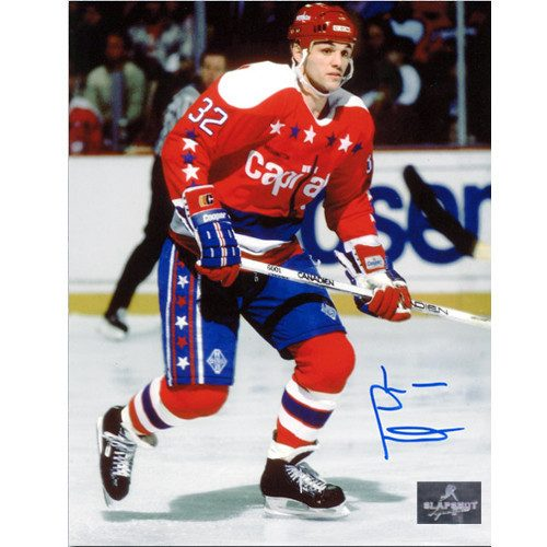 Lou Franceschetti Washington Capitals Autographed 8x10 Photo
