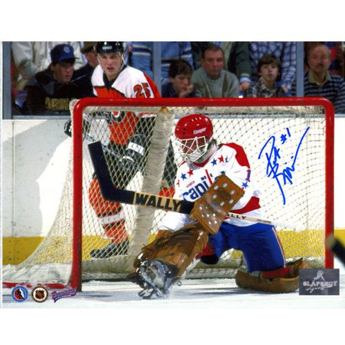 Pat Riggin Signed Photo-Washington Capitals Goalie 8x10 Photo