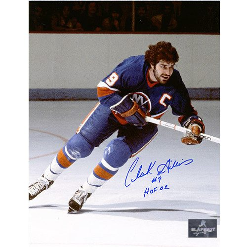 Clarke Gillies New York Islanders Autographed Hockey Captain 8x10 Photo