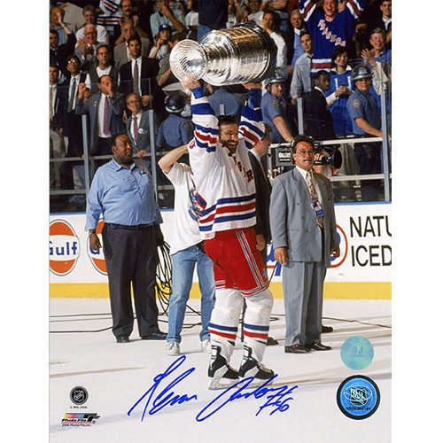Glenn Anderson Stanley Cup 1994 New York Rangers Signed 8x10 Photo