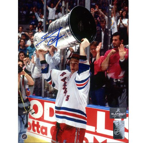 Adam Graves Stanley Cup 1994 New York Rangers Autographed 8x10 Photo