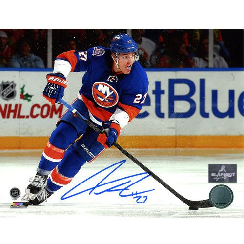 Anders Lee New York Islanders Autographed Action 8x10 Photo