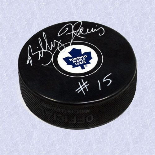 Billy Harris Toronto Maple Leafs Autographed Hockey Puck