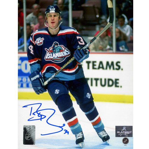 Bryan Berard New York Islanders Autographed Action 8x10 Photo