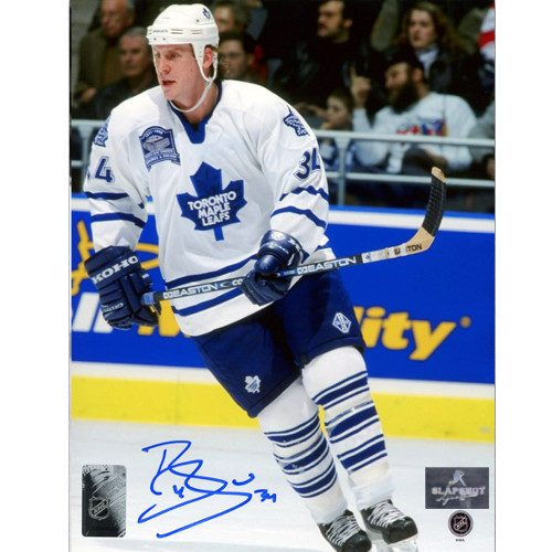 Bryan Berard Toronto Maple Leafs Autographed Action 8x10 Photo