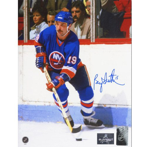 Bryan Trottier New York Islanders Autographed Game Action 8x10 Photo