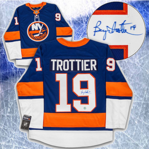 Bryan Trottier New York Islanders Signed Fanatics Hockey Jersey