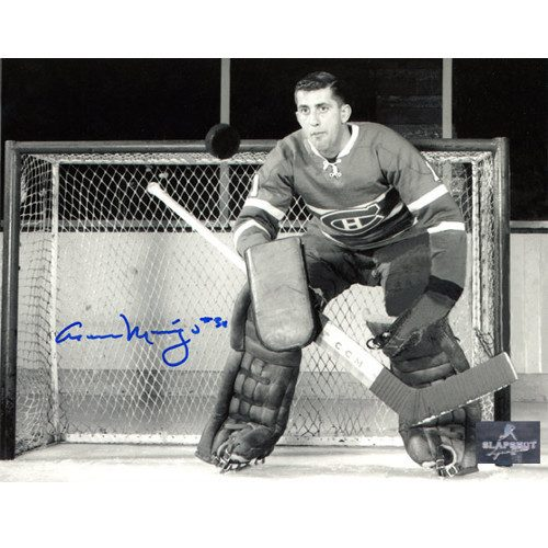 Cesare Maniago Goalie Montreal Canadiens Autographed 8x10 Photo