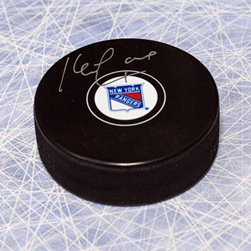 Kevin Lowe New York Rangers Autographed Hockey Puck