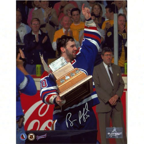Bill Ranford Conn Smythe Trophy 1990 Signed 8x10 Photo-Edmonton Oilers