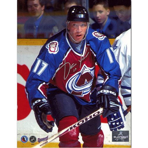 Jari Kurri Colorado Avalanche Autographed Hockey 8x10 Photo