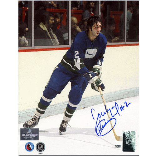 Jocelyn Guevremont Vancouver Canucks Autographed 8x10 Photo