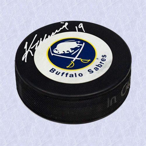 Kevin Maguire Buffalo Sabres Autographed Hockey Puck