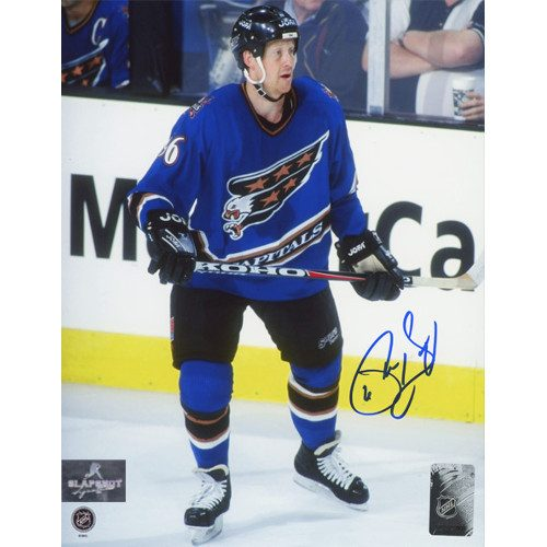 Phil Housley Washington Capitals Autographed Hockey 8x10 Photo