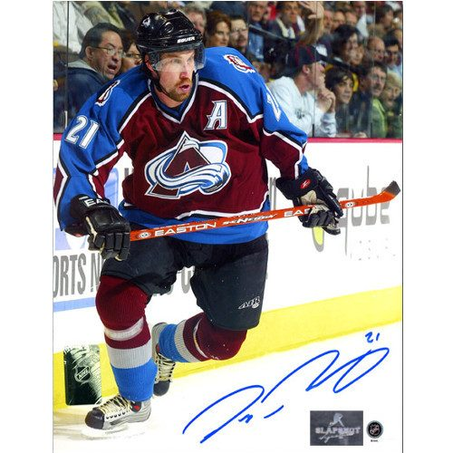 Peter Forsberg Autographed Photo Colorado Avalanche 8x10