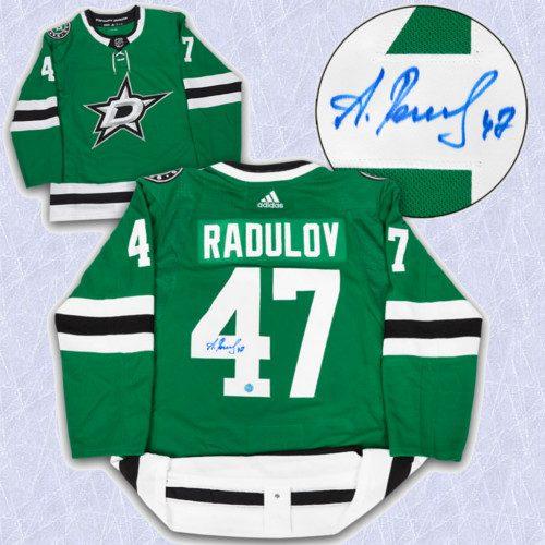 Alexander Radulov Adidas Jersey Autographed Authentic-Dallas Stars