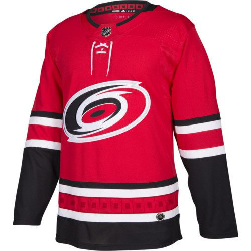 Carolina Hurricanes Adidas Authentic Home NHL Jersey